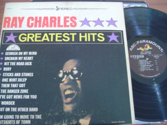 RAY CHARLES - GREATEST HITS - ABC STEREO
